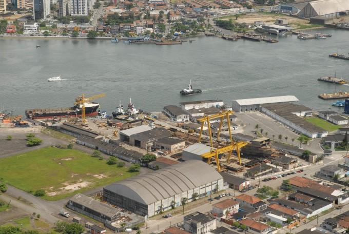Wilson Sons amplia a construção de rebocadores no estaleiro de Guarujá