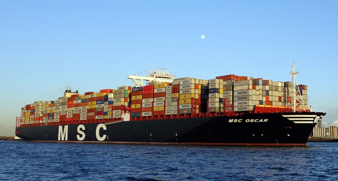 O maior navio da MSC, o MSC Meraviglia, estreia-se em Lisboa