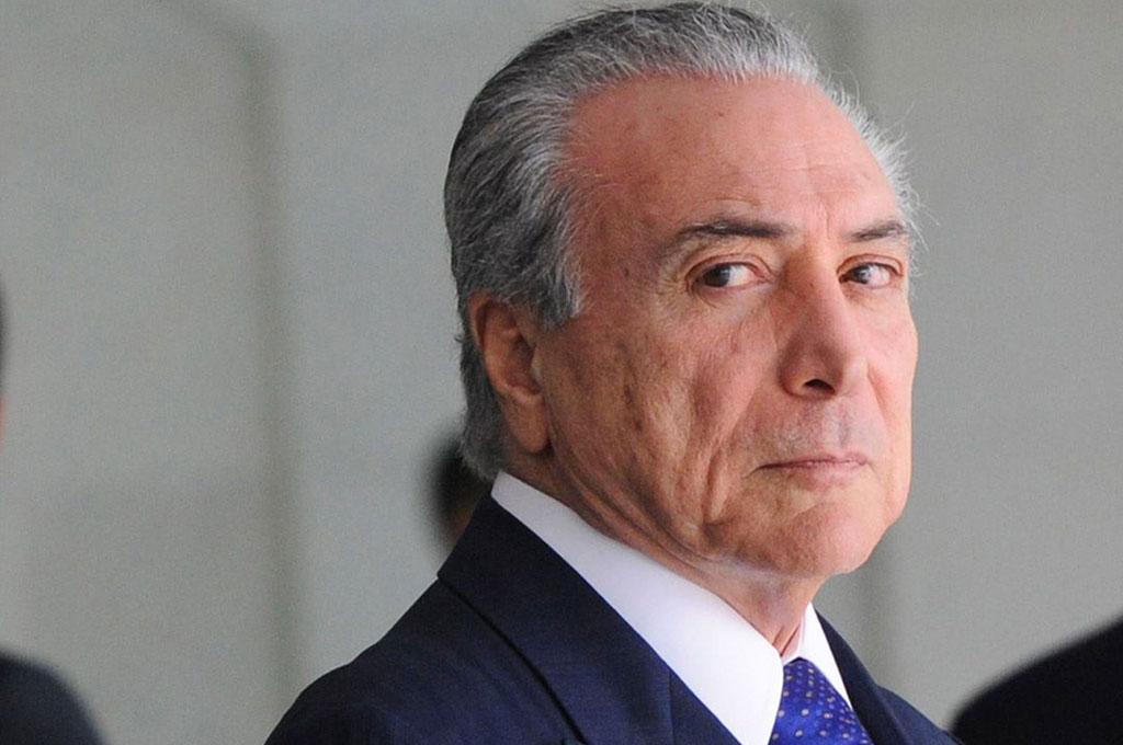 Temer recebeu diretor da Polícia Federal no Palácio do Planalto