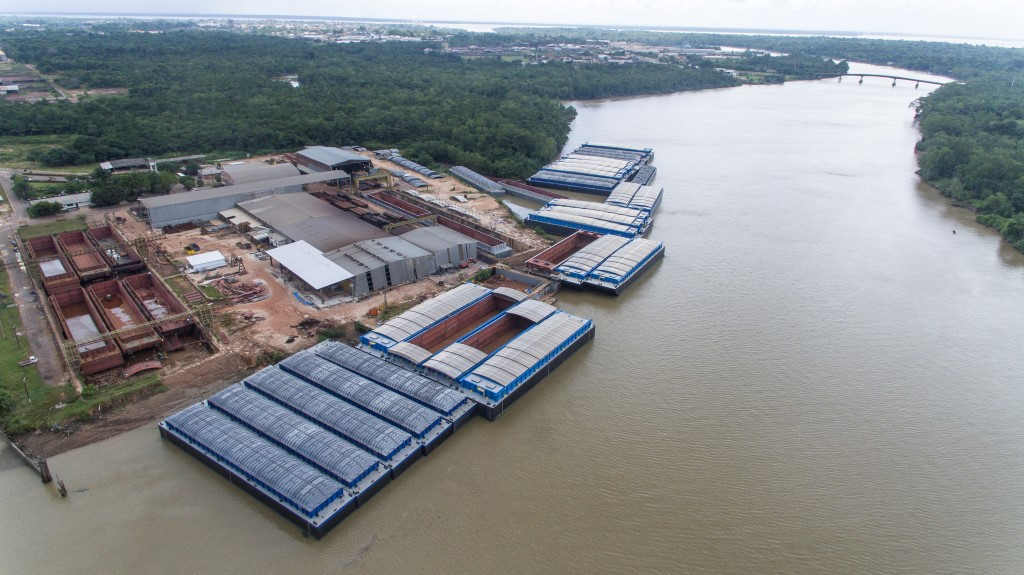 Resultado de imagem para Construção de balsas gaseiras pode abrir portas do estaleiro Rio Maguari para exportação3,